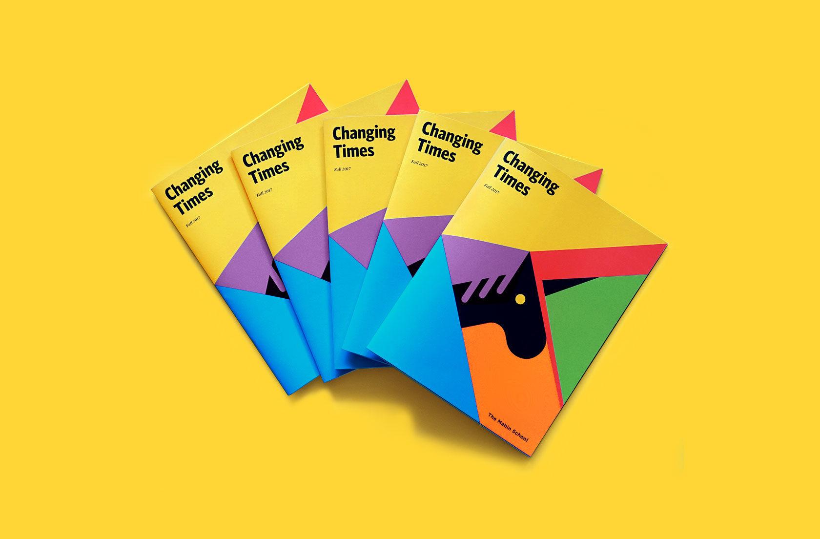 The Mabin School Magazine Design by Furia