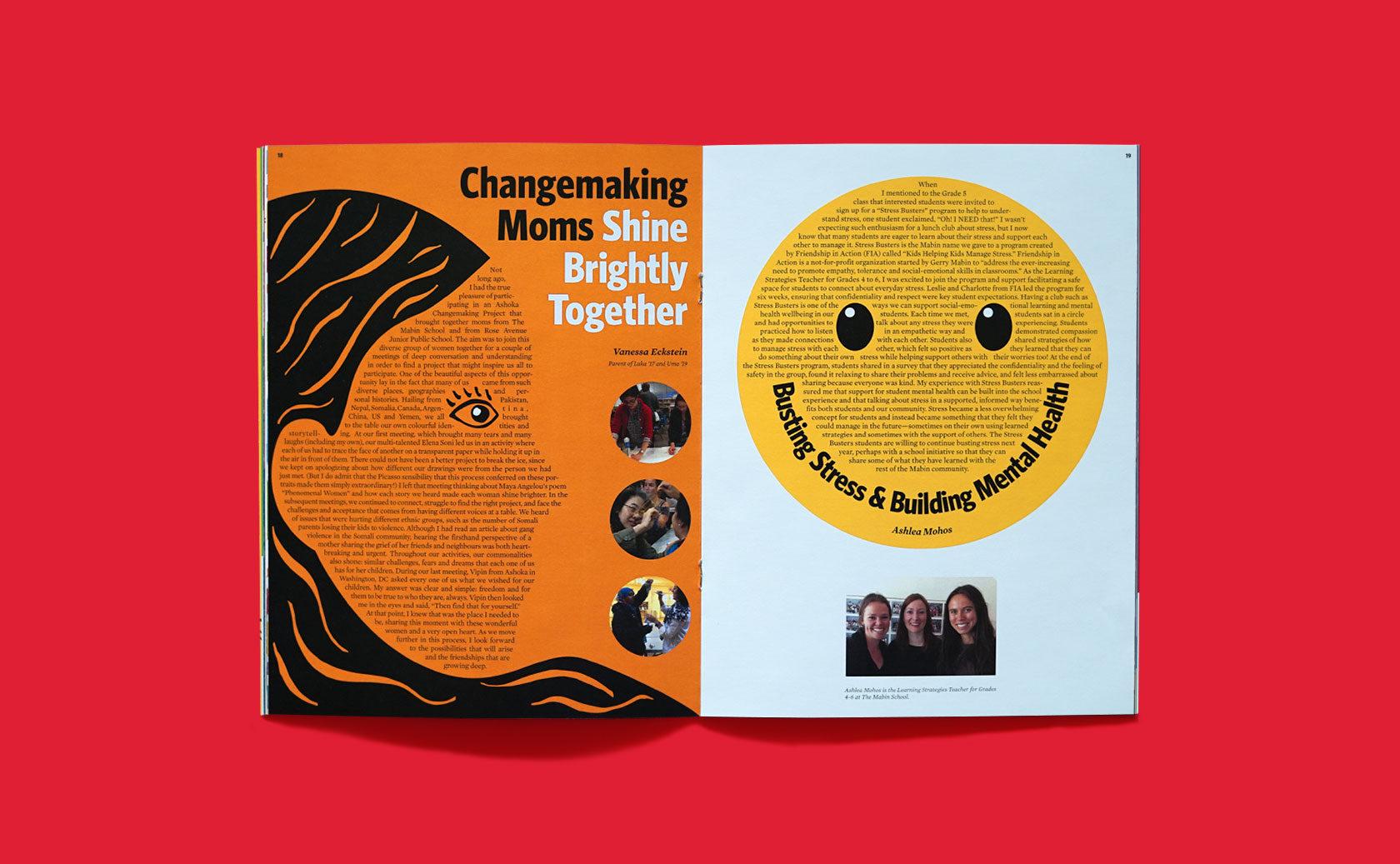 The Mabin School Magazine Editorial Design 6 by Furia