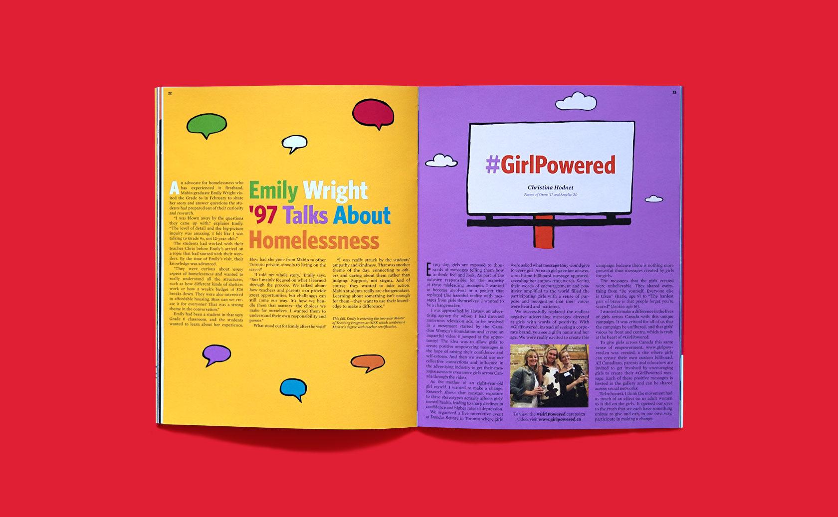 The Mabin School Magazine Editorial Design 7 by Furia