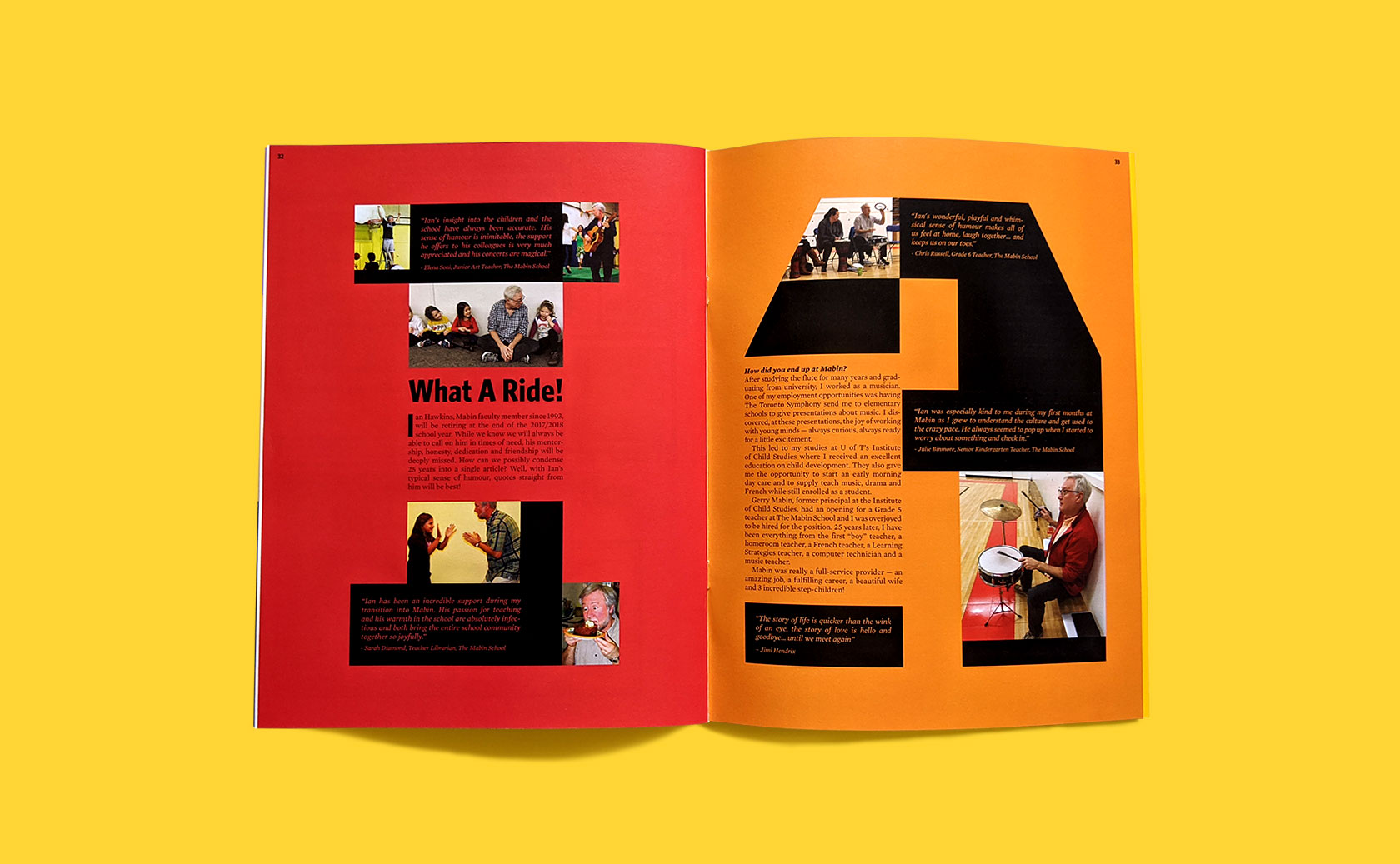 The Mabin School Magazine Editorial Design 22 by Furia