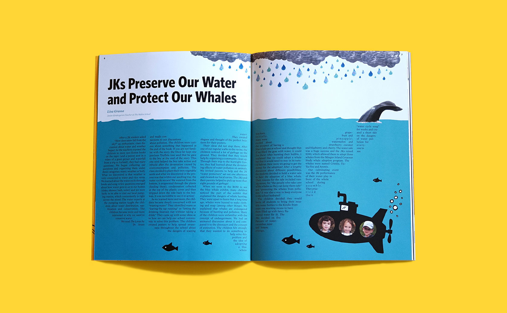 The Mabin School Magazine Editorial Design 2 by Furia