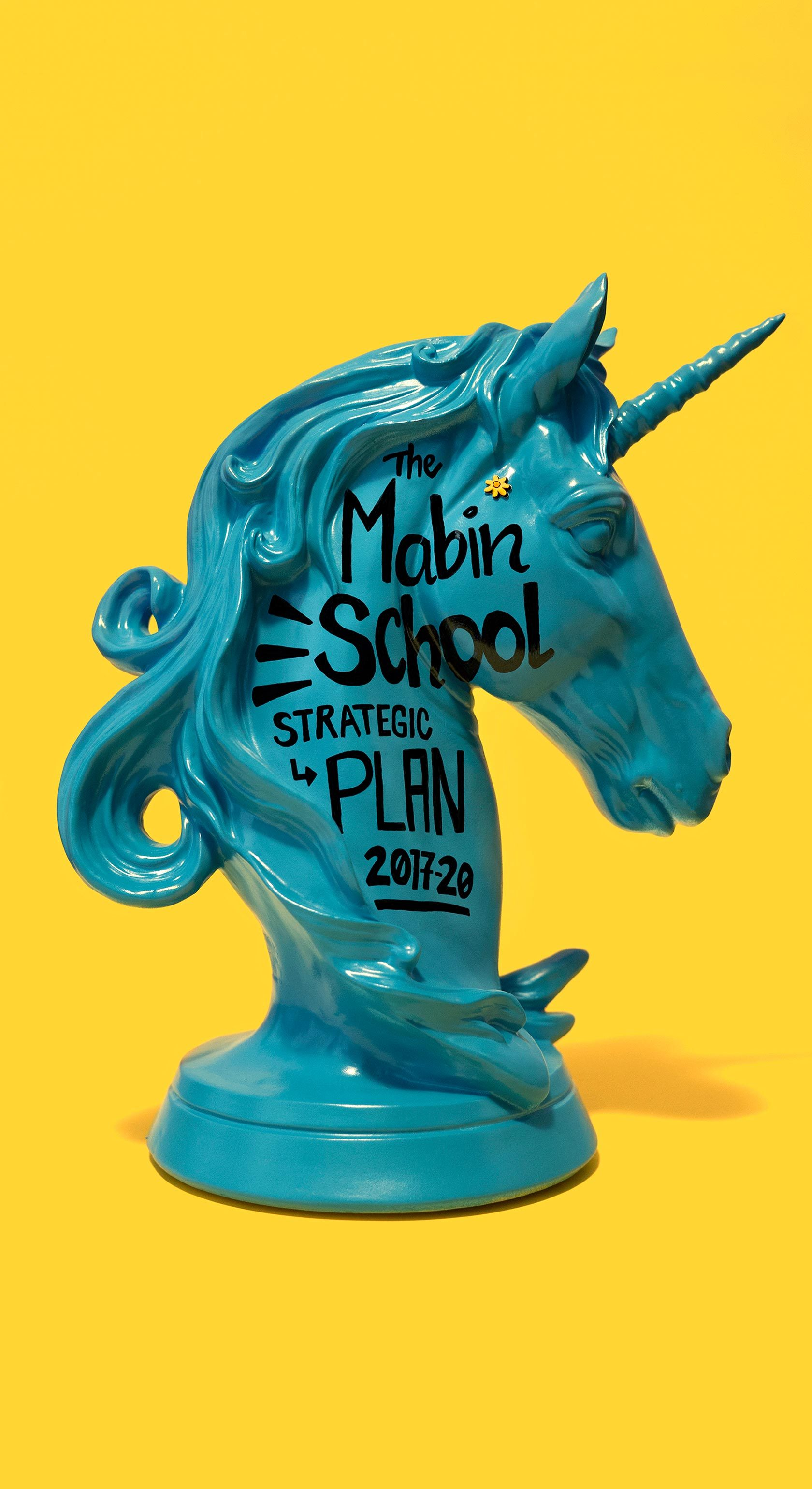 The Mabin School Art Direction by Furia