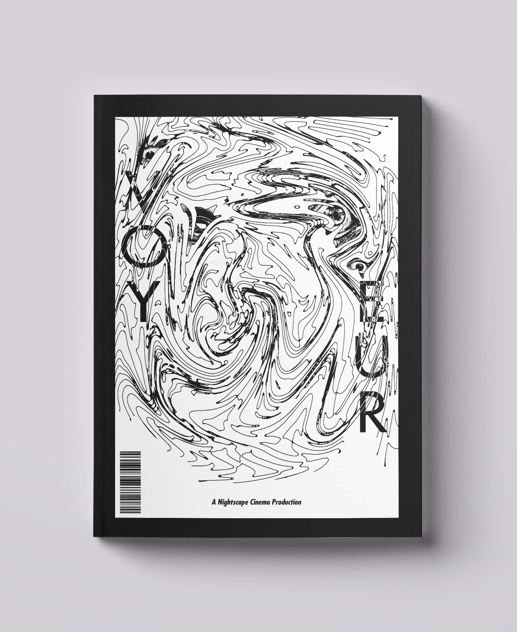 Voyeur Film Magazine Cover Design by Furia