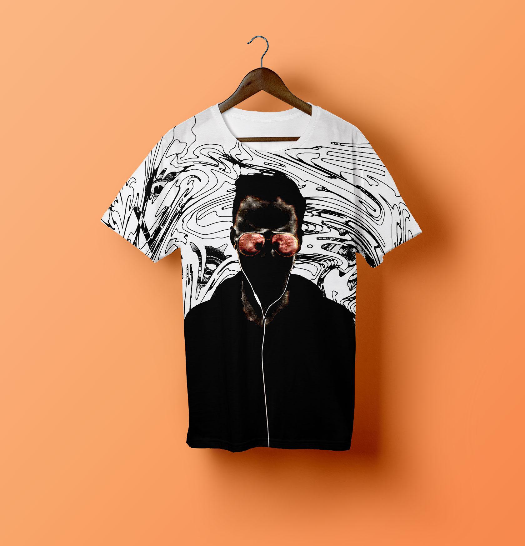 Voyeur Movie Merchandise Tshirt Design by Furia