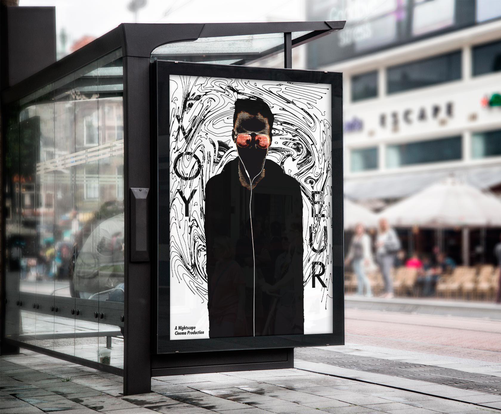 Voyeur Movie Poster Design by Furia