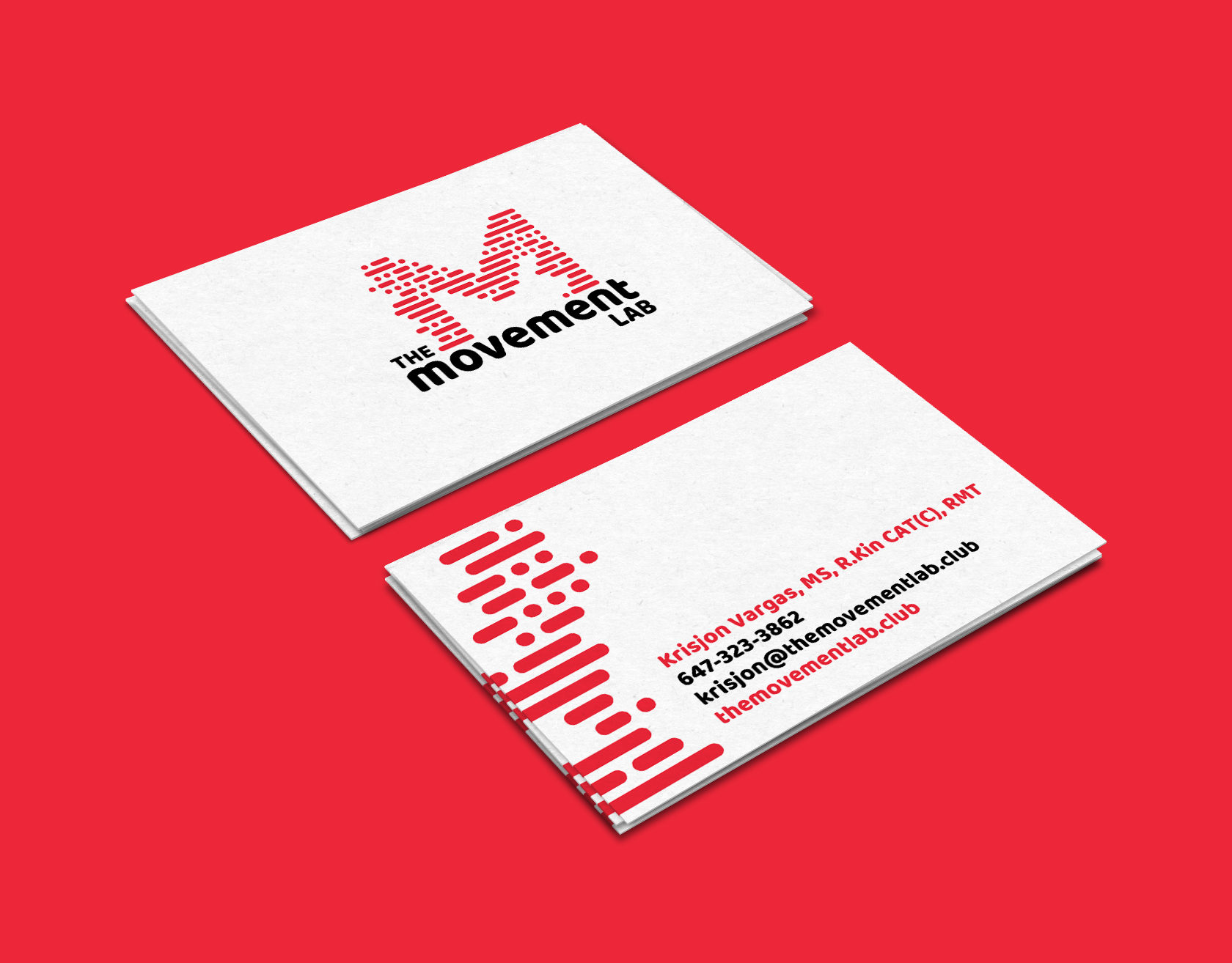The Movement Lab Business Card Design by Furia