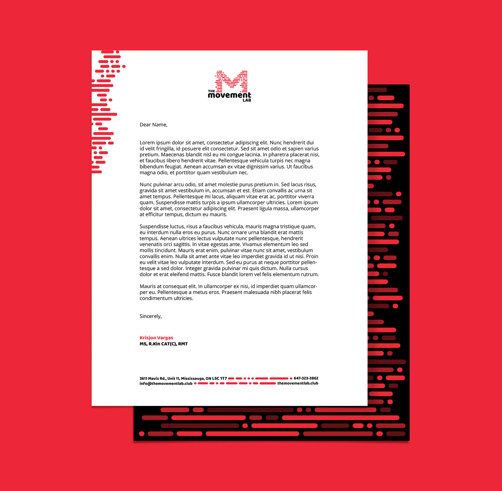 The Movement Lab Corporate Identity Design by Furia