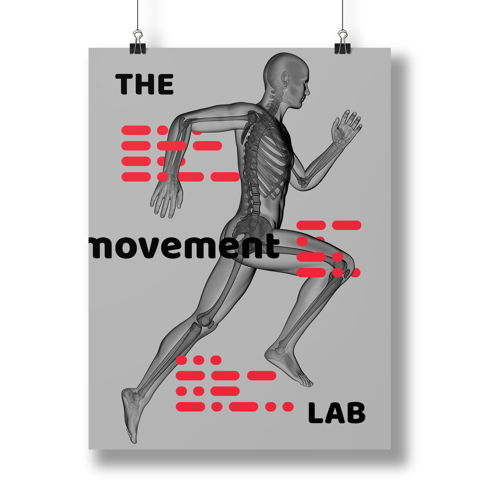 The Movement Lab Poster Design by Furia