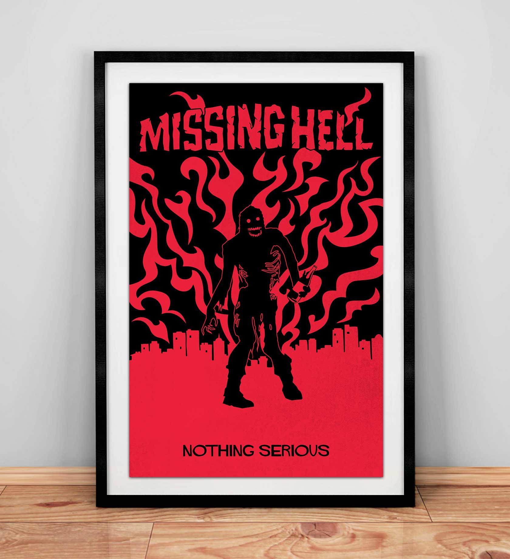 Nothing Serious Poster Design 3 by Furia