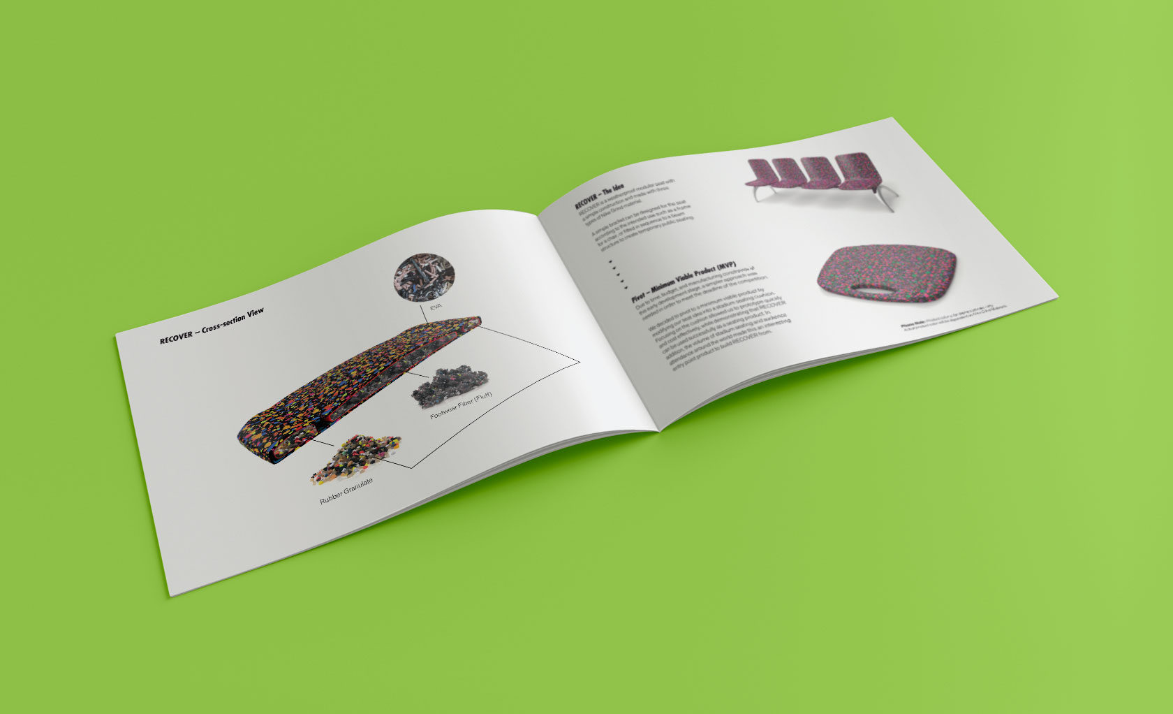 Recover Industrial Design Booklet by Furia