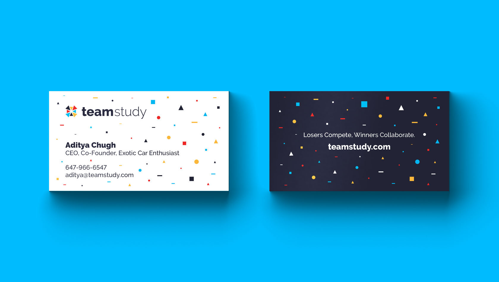 Team Study Business Card Design by Furia