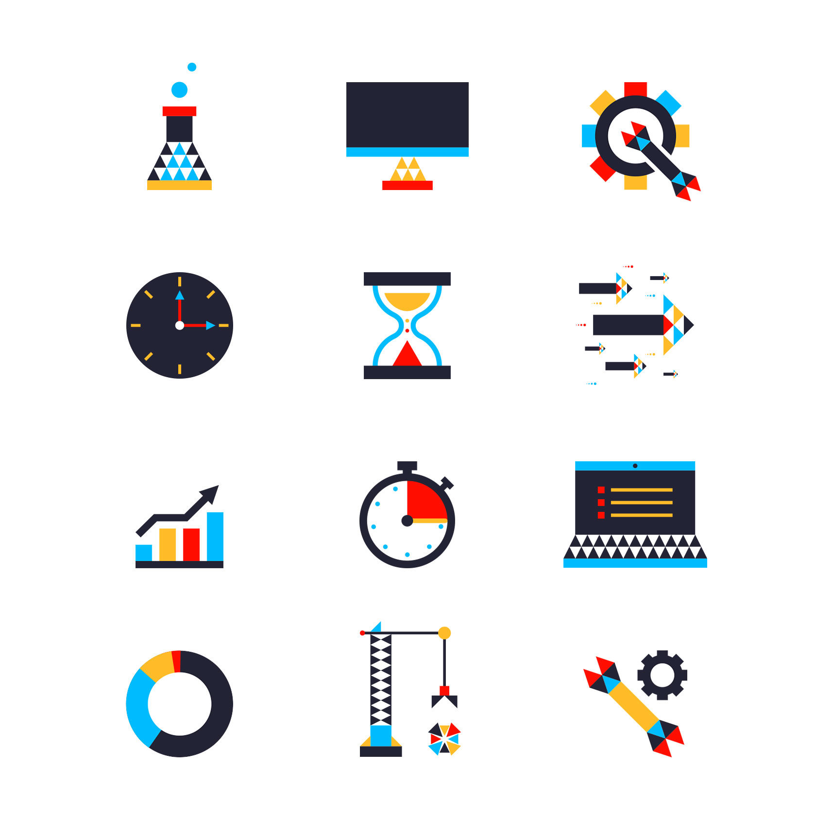 Team Study Web Icon Set Design by Furia