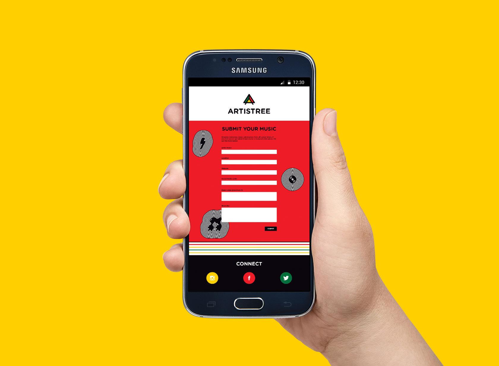 Artistree-mobile-website-design-by-Furia