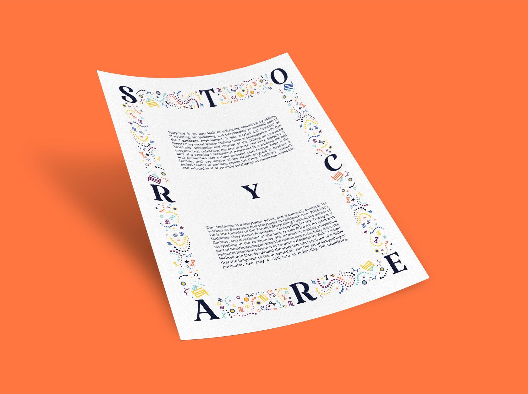 Storycare Advertising Design by Furia