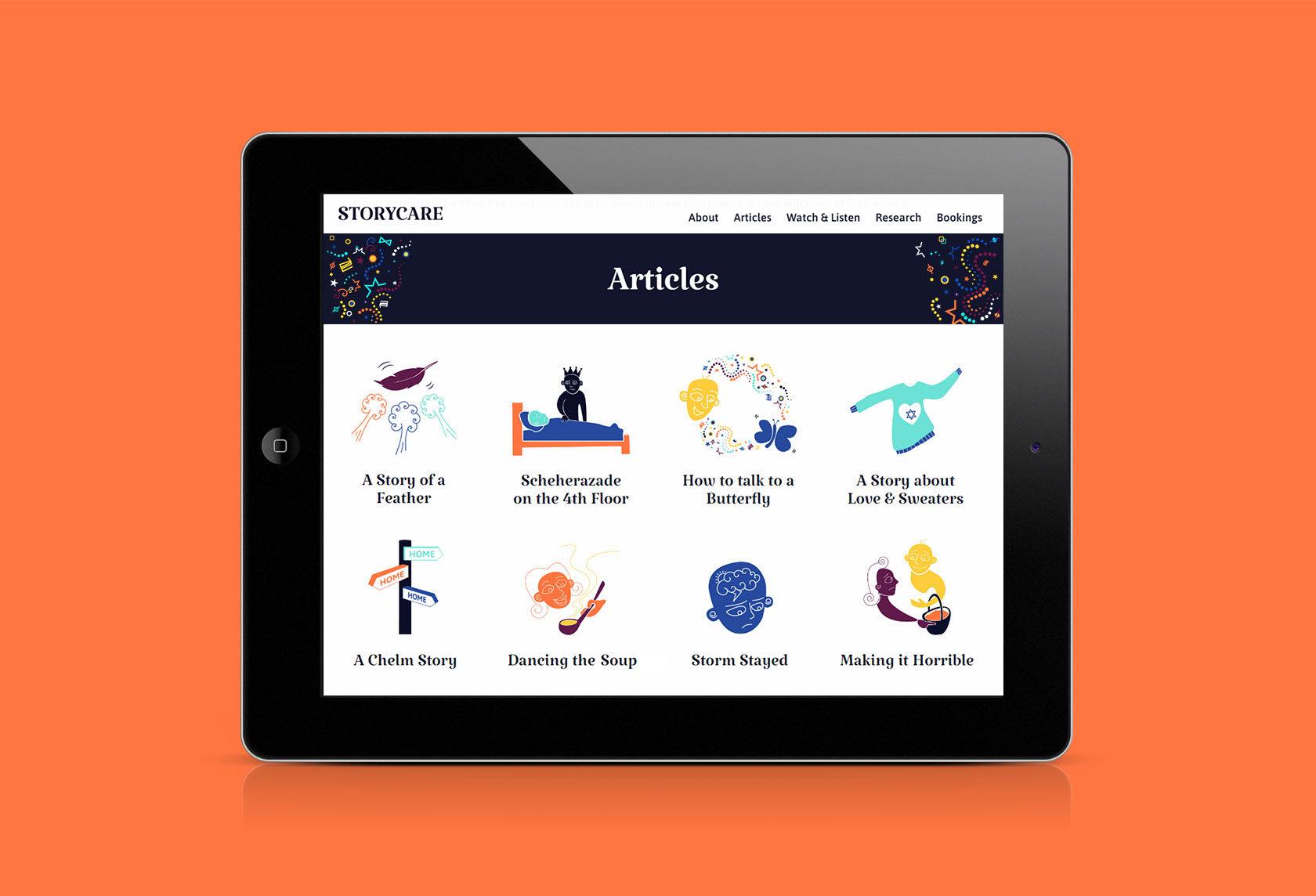 Storycare Responsive Website Design and Development by Furia